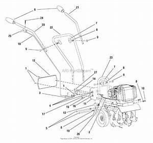 Snapper Mc43e  1695764  43cc 2 Cycle Mini Cultivator Parts Diagram For Handles  U0026 Controls Group