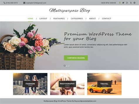 Best Themes For Blogs Theme Directory Free Themes