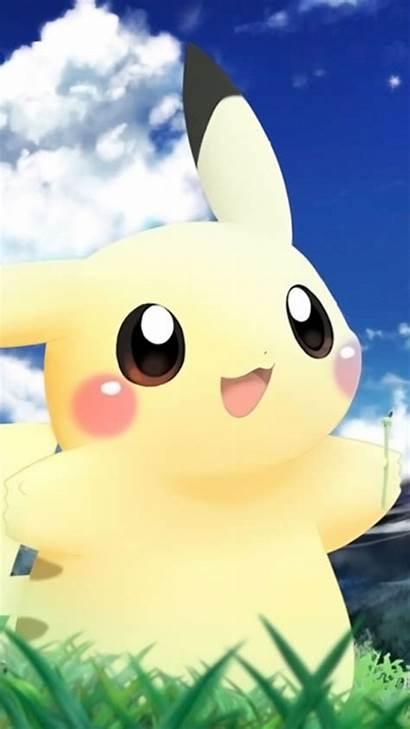 Pikachu Pokemon Desktop Wallpapers Wallpapersafari Samsung Iphone