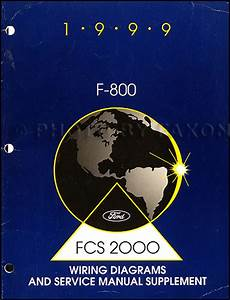 1998 Ford Medium And Heavy Duty Truck Service Specifications Book