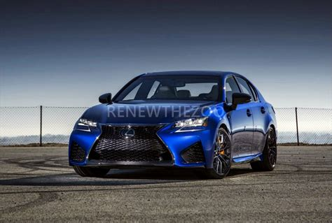 lexus gs  redesign  price specs