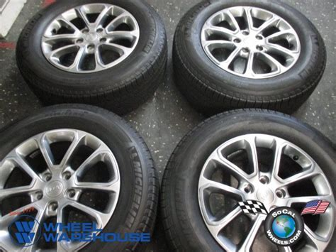 2014 jeep grand cherokee tires four 2014 15 jeep grand cherokee factory 18 wheels tires