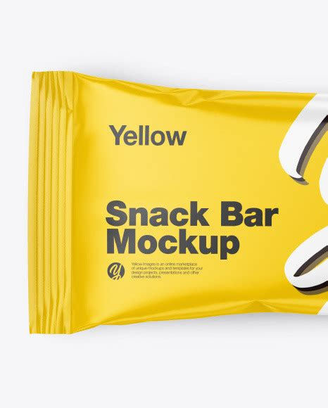 A great way for any creative person to show off their work. Matte Snack Package Mockup - Matte Snack Package Mockup In ...