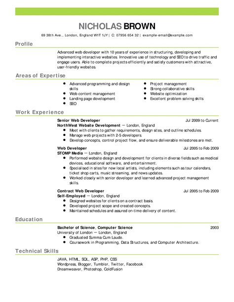 college admissions resume objective sle resume for a