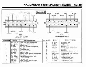 1991 Bronco Instrument Cluster Wiring Schematic