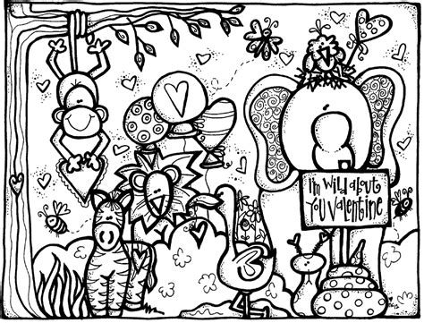 melonheadz valentines day coloring page