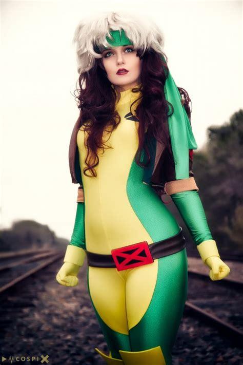 rogue cosplay marvel chan hopie comics comic collection costume deviantart got vampira