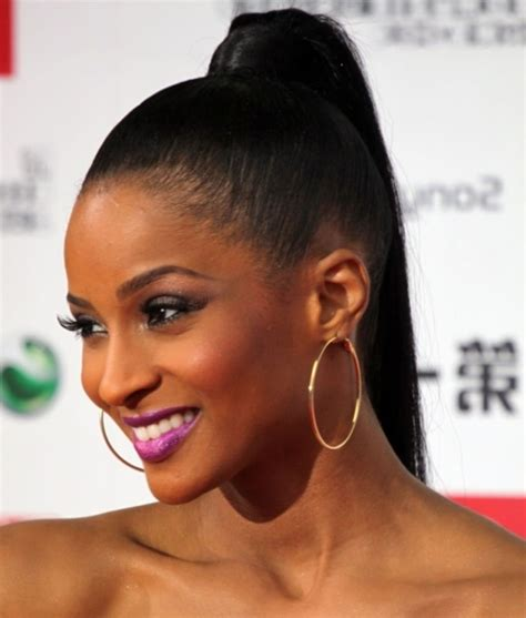 Black With Hairstyles by 20 Easy Black Ponytail Hairstyles