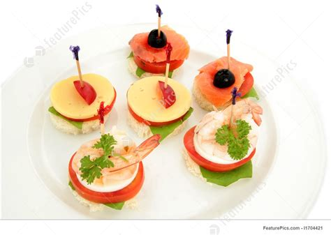 photo of canape or finger food