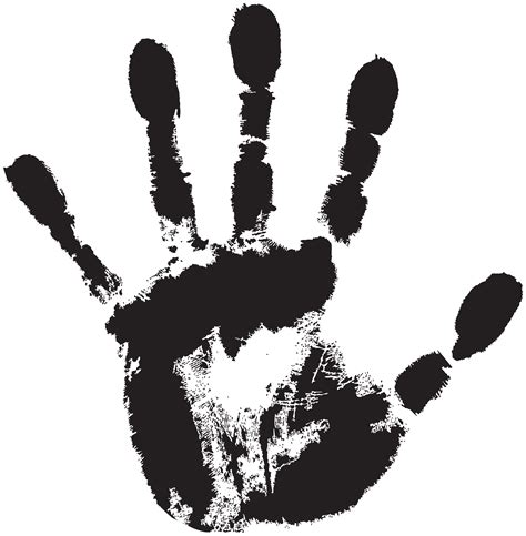 hand print clipart   cliparts  images