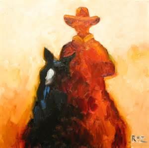 Cowboy Oil Paintings