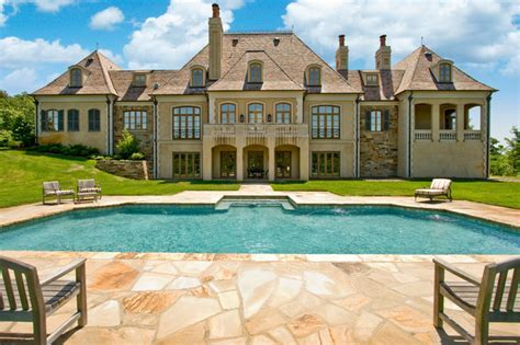 Kanis French Country Estate   Traditional   Exterior