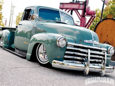 chevy truck car 1952 chevrolet truck lowrider magazine