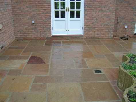 patio in set driveways and patios newmarket cambridge suffolk