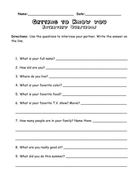 free worksheets 187 icebreaker worksheets free math
