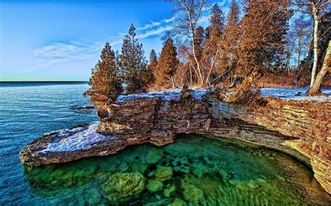 Lake Wallpaper Michigan Hd Desktop Wallpapers 4k Hd
