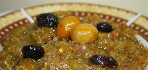 recette cuisine recette slata mechouia tunisienne salade grillée