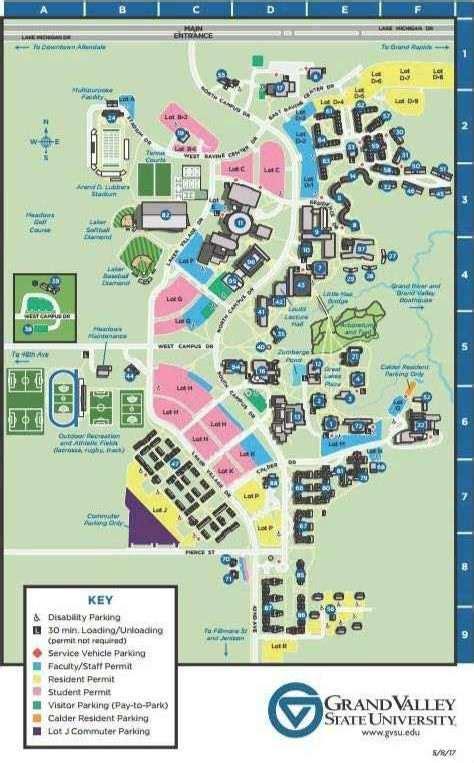 Gvsu Campus Map 2016.Gvsu Downtown Campus Map