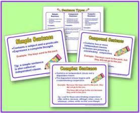 Simple Compound and Complex Sentences