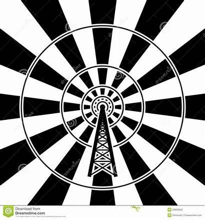 Tower Radio Broadcast Vector Illustration Clip Vectors