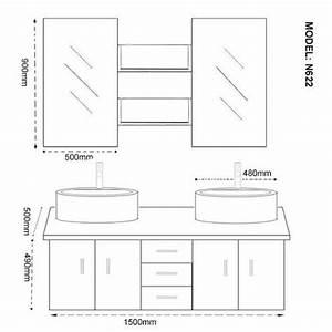 meuble vasque hauteur With salle de bain design avec hauteur vasque à poser