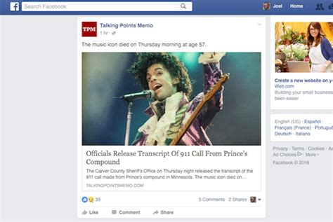Facebook's Latest News Feed Change Puts Articles You'll