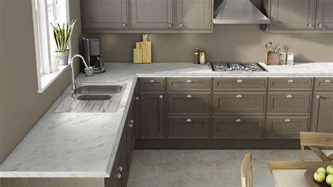 Wilsonart's visualizer. Calcutta marble laminate with gray