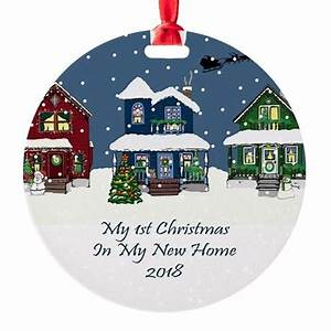 2018 My 1St Christmas House Ornament by sparetimedesign
