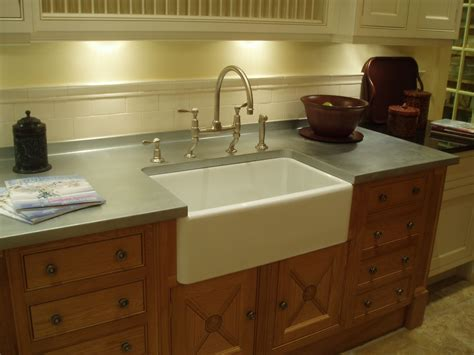 kitchen cabinets with countertops matte finished zinc with farm sink brookscustom matte 9534