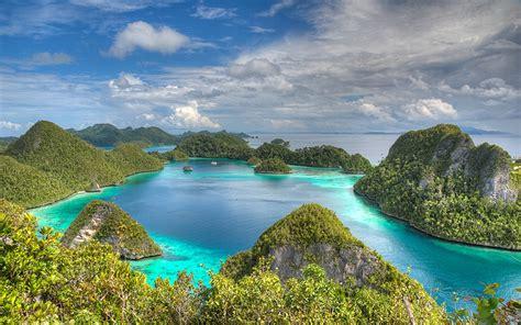 raja ampat indonesia beautiful hd wallpaper islands