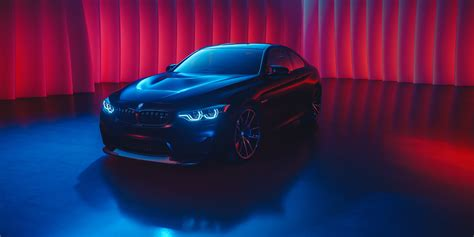 Bmw Car Wallpapers For Laptop Screen by Bmw M4 Neon Color Hd 4k Wallpaper