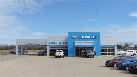 Lone Star Chevrolet Is A Fairfield Chevrolet Dealer And A