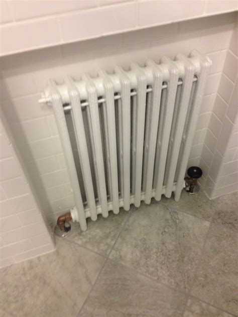 recessed radiator   bathrooms pinterest