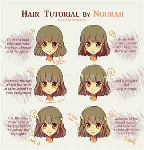 Hair Tutorial by Nouraii on DeviantArt