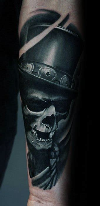 badass skull tattoos  men masculine design ideas
