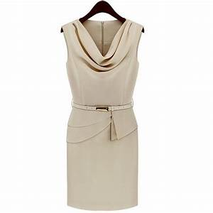 robe droite a col benitier blanc achat vente robe robe With robe col bénitier