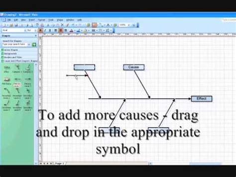 effect diagram  visio lessonpaths