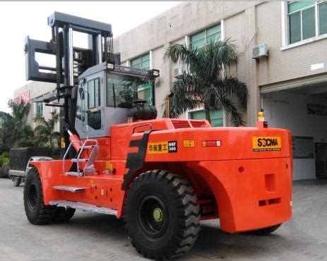 china customized  ton heavy duty forklifts manufacturers  factory socma