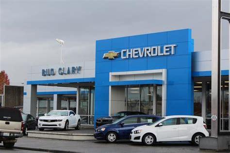 Bud Clary Chevrolet Car Dealership In Longview, Wa 98632