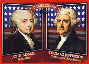 Image result for images 1796 presidential campaign