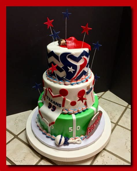 ideas  houston texans cake  pinterest
