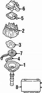 Cadillac Deville Distributor Rotor