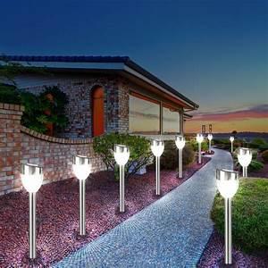 Lampen Für Den Garten : au enlampe aus edelstahl und kunststoff f r den garten ~ Whattoseeinmadrid.com Haus und Dekorationen