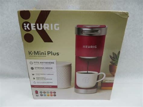 After hours of research and many pots of coffee, we've come up with what we consider to be the 9 best keurig coffee makers on the market. Keurig K Mini Plus Coffee Maker - Cardinal Red for sale online | eBay