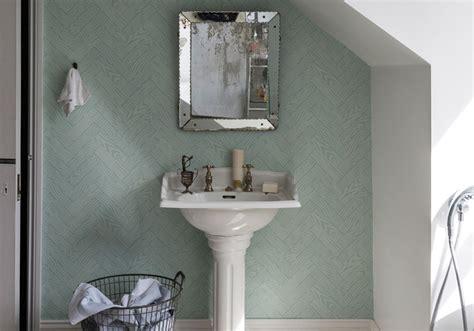 le salle de bain j ose le papier peint dans ma salle de bains d 233 coration