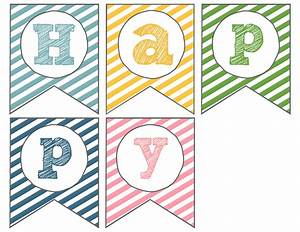 Easter Banner Free Printable {Happy Easter} - Paper Trail ...