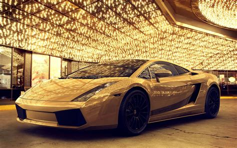 Cars Lamborghini Gold, Desktop Wallpaper Nr 59513 By Striker
