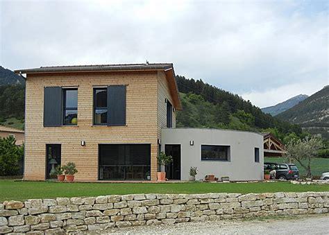 maison ossature bois avec mur cintr 233 224 die dans la dr 244 me os 233 bois