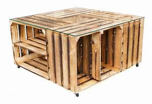 Bastelschrank Mit Tisch : obstkisten tisch mit glasplatte rollen couchtisch ~ A.2002-acura-tl-radio.info Haus und Dekorationen