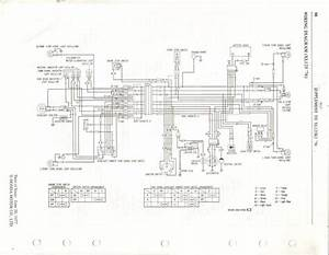 Honda Xl125 Ct125 Usa Wiring Diagram  With Images